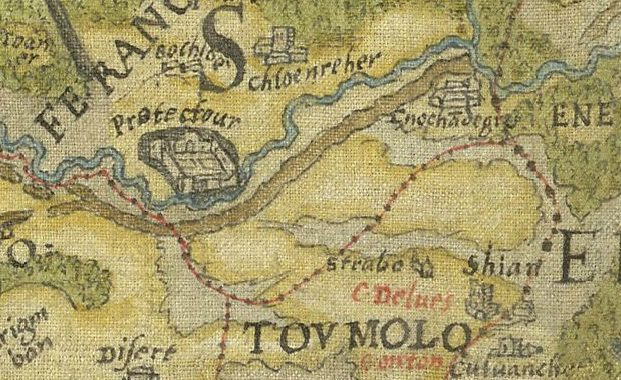 600 Year Old Map Of Ireland.A Little History On The Old Fort Portlaoise Laois Archaeology