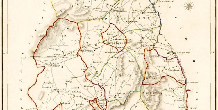 1837 Map Of Laois